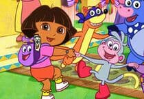 10 Differences Dora Jeu