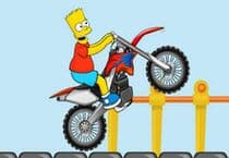 Bart Bike Adventure Jeu