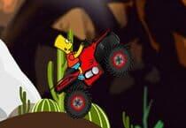 Bart Simpson ATV Drive Jeu