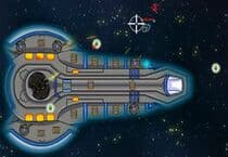 Deep Space Barrage Jeu