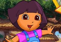 Dora At The Zoo Jeu