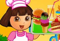 Dora Fun Cafe Jeu