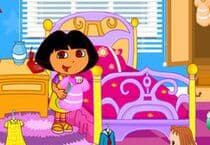 Dora School Clean Up Jeu