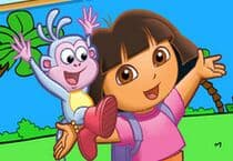 Dora The Explorer Coloring Jeu