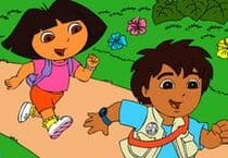Dora and Diego Adventure 2 Jeu