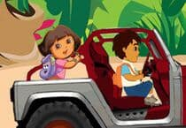 Dora and Diego Adventure Jeu