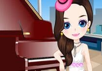 Girl Play the Piano Jeu