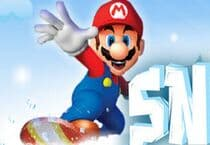 Mario Snow Skating Jeu