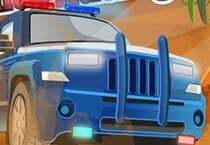 Offroad Police Racing Jeu
