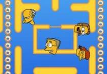 Pac Man Simpsons Jeu