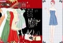 Pretty Gown Dress Up Jeu