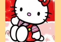 Red Hello Kitty Sliding Jeu