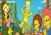 Simpsons Alphabet Caché Jeu