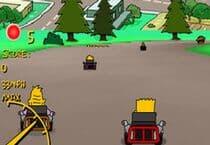 Simpsons Kart Jeu