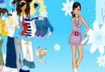 Sky Flower Dress Up Jeu