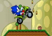 Sonic 4x4 Dans Mario Land Jeu