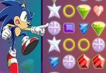 Sonic X Emerald Grab Jeu