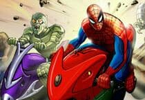 Spiderman Hills Racer Jeu