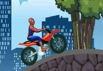 Spiderman et sa Super Moto Jeu
