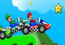 Super Mario Racing Jeu