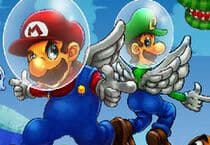 Super Mario Sky Shooter Jeu