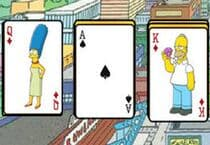 The Simpsons Solitaire Jeu