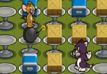 Tom Jerry Bomberman Jeu
