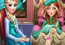 Anna Frozen Flu Doctor Jeu
