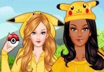 Barbie Pokemon Jeu