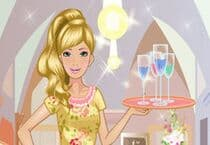 Barbie Waitress Jeu