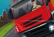 Crazy Trucker Rush Jeu