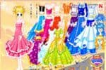 Shiney Princess Dress Up 2 Jeu
