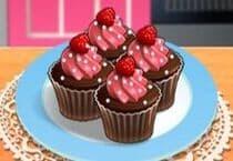 Jeu De Cours De Cuisine De Sara Cupcakes Chocolat Framboise