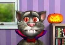 Tom le Chat qui Parle Halloween