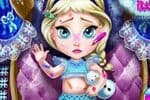 Baby Elsa Injured Jeu
