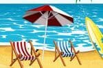 Summer Beach Decor Jeu